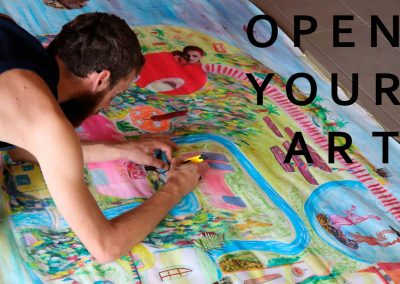 Open your art